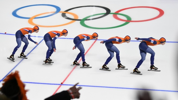 韓國平昌奧運會。(圖:AFP)