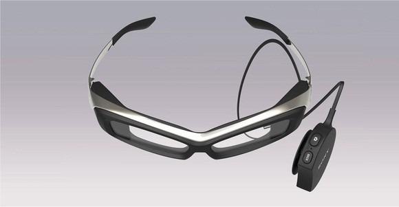 sony的SmartEyeglass