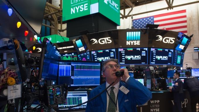 圖:AFP  美國股市連三天上漲