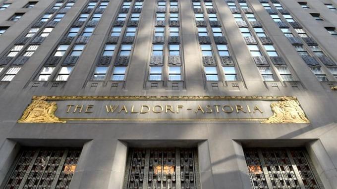 黑石計畫購回紐約地標之一的華爾道夫酒店。 (圖:AFP)
