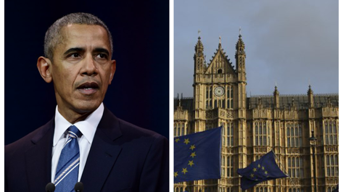 歐巴馬與英國國會在當地時間13日收到白色粉末的信件。 (圖:AFP)