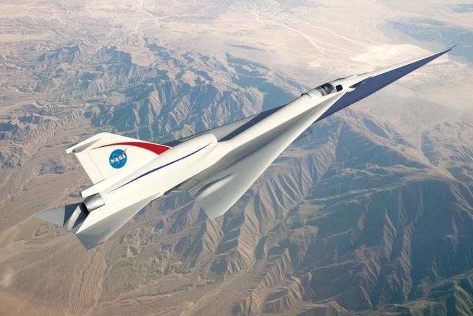 NASA也展開超音速客機研發      (圖取自NASA)