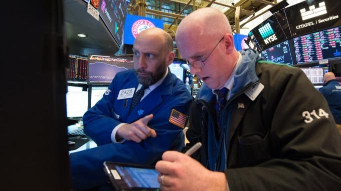 上週美股發生恐慌性拋售。(圖:AFP)