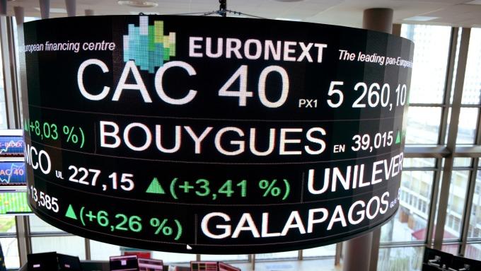 週三歐股開高。(圖:AFP)