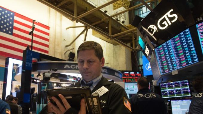圖:AFP  美國股市清除早場跌幅 反彈上揚