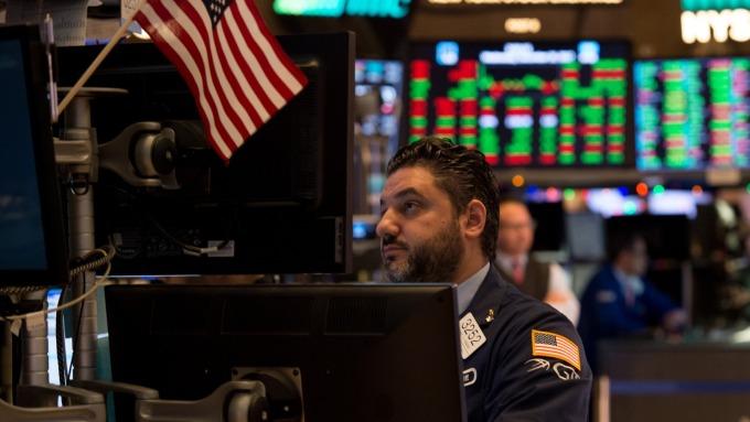 圖:AFP  美國股市週三連續第四天上漲
