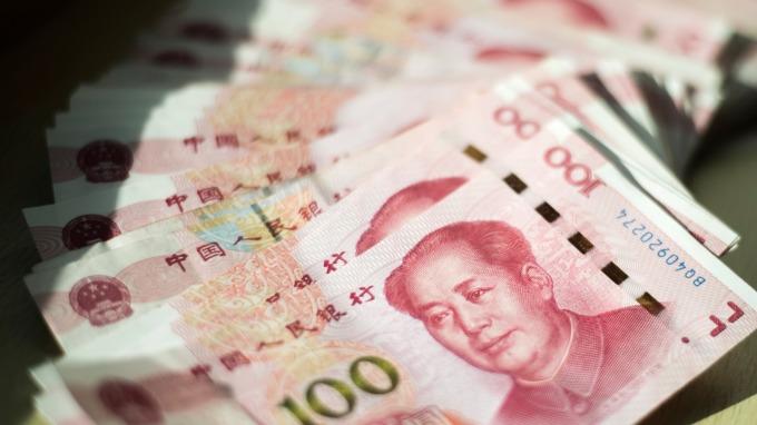 美元反彈 歐元、日元、離岸人民幣大幅下行。(AFP)