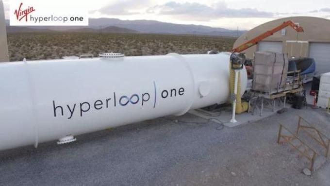 圖片來源:Virgin Hyperloop One