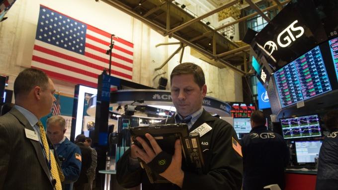 近期美股波動劇烈。(圖:AFP)
