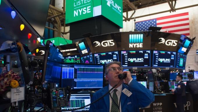 圖:AFP  美國股市週三大幅反轉