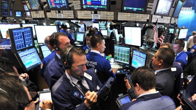 圖:AFP  美國股市週五大幅上漲