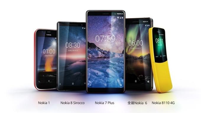 〈MWC展將登場〉鴻海助攻 Nokia發表5款新機