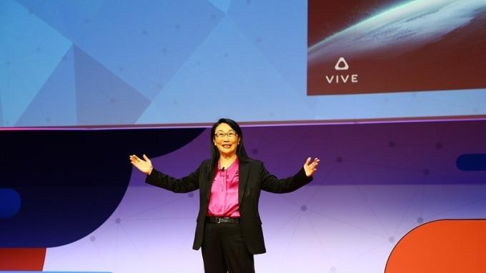 〈MWC登場〉闡述Vive願景 王雪紅:VR/AR將釋放AI強大實力