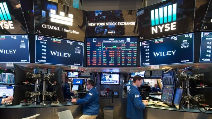 圖:AFP  美國股市週二震盪整理