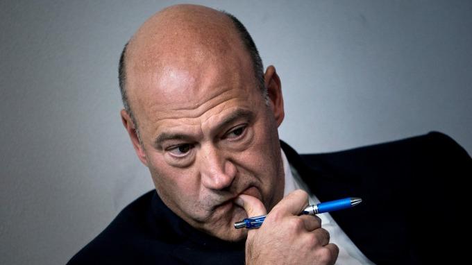 白宮國家經濟委員會主席科恩宣布辭職。(圖:AFP)