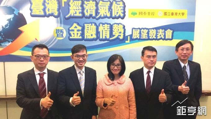 〈國泰金經濟調查〉台灣今年GDP估值上調至2.3% 四大因素牽動經濟成長動能