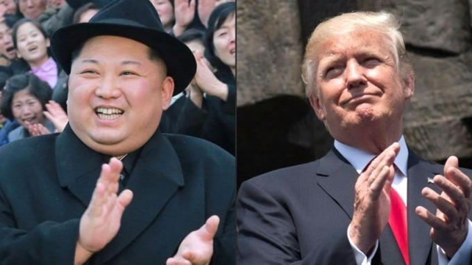 美國總統川普同意5月底前,與北韓領導人金正恩舉行首腦會談。 (圖:AFP)
