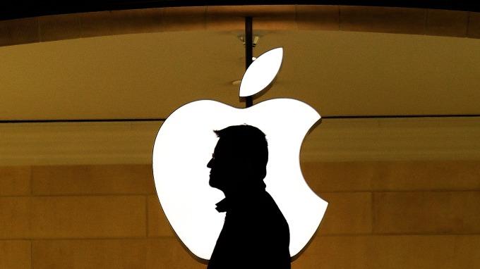 科技大廠蘋果logo(圖:AFP)
