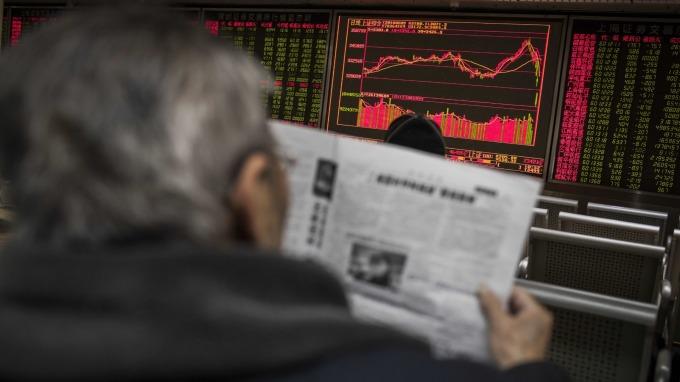 中國股市 (圖:AFP)