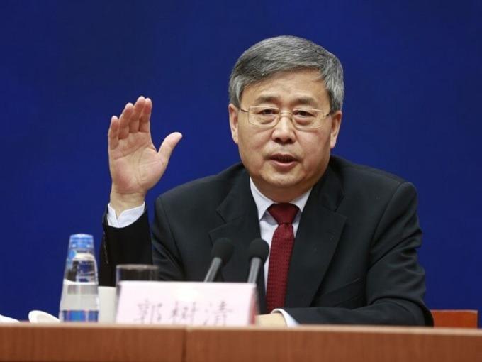 業界預料,銀保合併後最有可能的掌舵人被認為是現銀監會主席郭樹清。 (圖取材自網路)