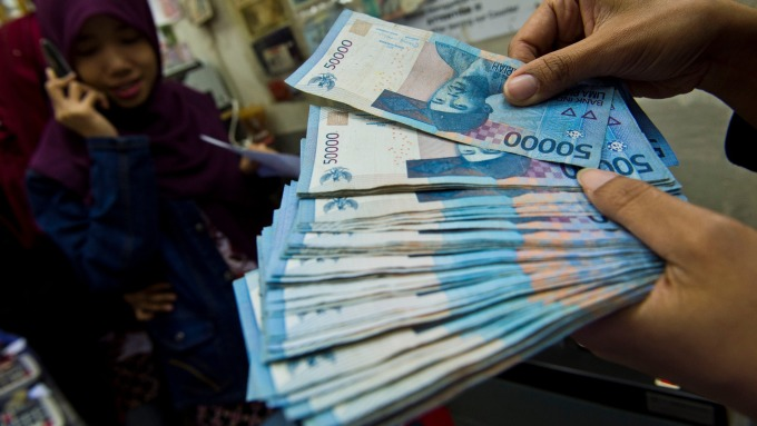 印尼盾(圖AFP)