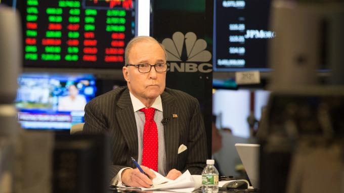 經濟學家Larry Kudlow。(圖:AFP)