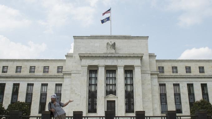 美國聯準會(Fed)大樓。(圖:AFP)