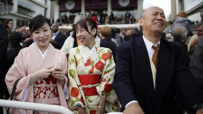 日本和服也在漲價(圖:AFP)