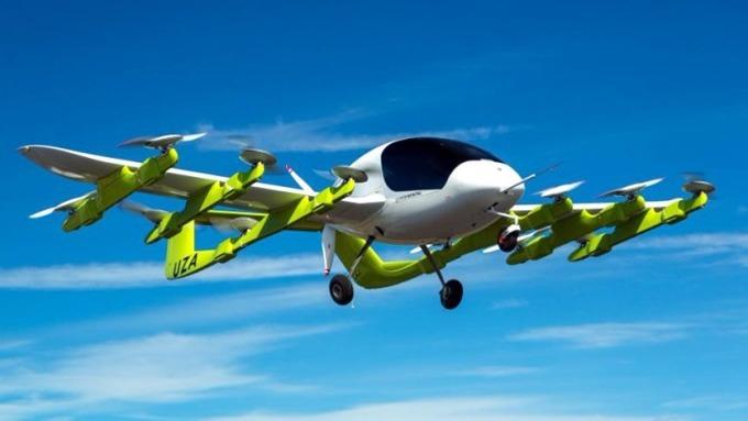 Google「飛天無人計程車」Cora。 (圖:AFP)