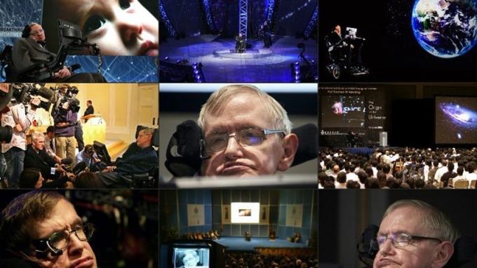 一直致力於探索宇宙奧秘的霍金,曾經說過許多驚人之語。 (圖:AFP)