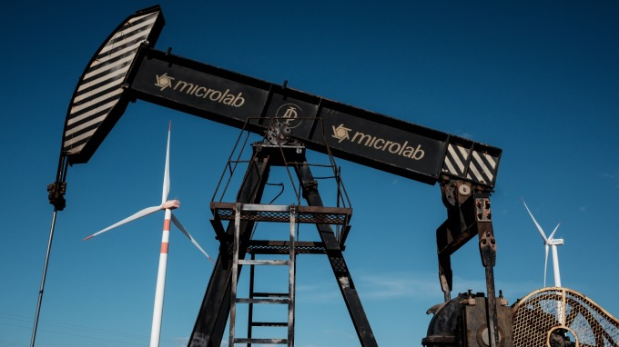 美國原油產量續增。(圖:AFP)