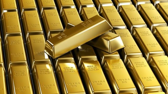 週二黃金期貨收在近三週最低收盤價