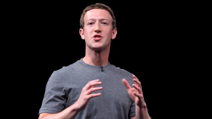 臉書創辦人暨執行長祖克柏。(圖:AFP)