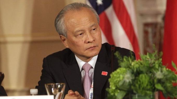 中國駐美大使崔天凱暗示,中國不排除減買美債,回應國對中國產品開徵關稅。 (圖:AFP)
