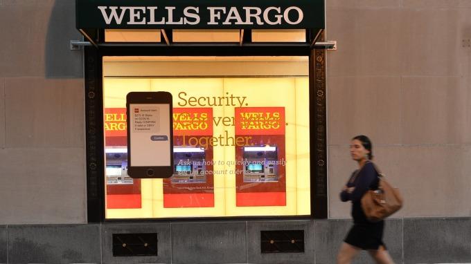 位於華盛頓DC的富國銀行(圖:AFP)