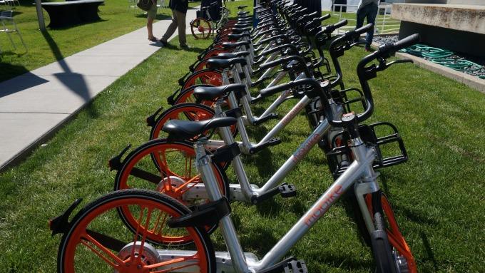 共享單車Mobike攻日 攜手星巴克、麥當勞解決「亂停」亂象
