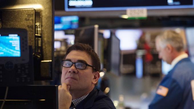 圖:AFP  美國股市跌回早場漲幅 終場收低