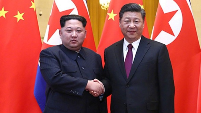 金正恩真的訪華 還晤習近平 表態半島無核化進程需中國幫忙