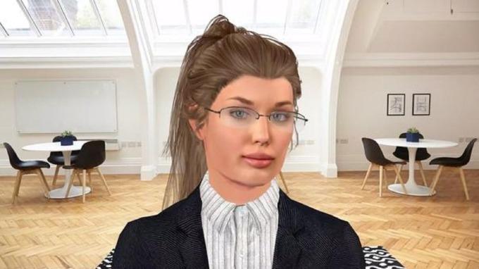 HR機器人Vera。(來源:Stafory網站)