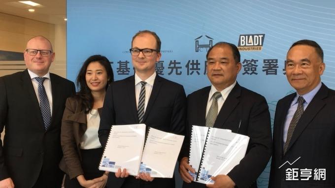 〈離岸風電商機夯〉首家取得正式合約台廠 CIP與世紀鋼旗下世紀風電簽採購協議