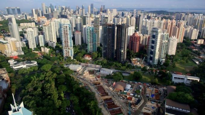 新加坡房市擺脫政府打房壓力,創8年來最大季度漲幅