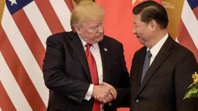 美中貿易戰疑慮升溫。(圖:AFP)