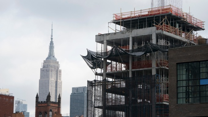 美國房市的「詭異」繁榮。(圖:AFP)
