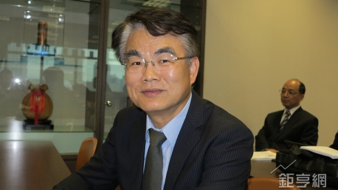台灣氣立董事長游平政。(鉅亨網記者張欽發攝)