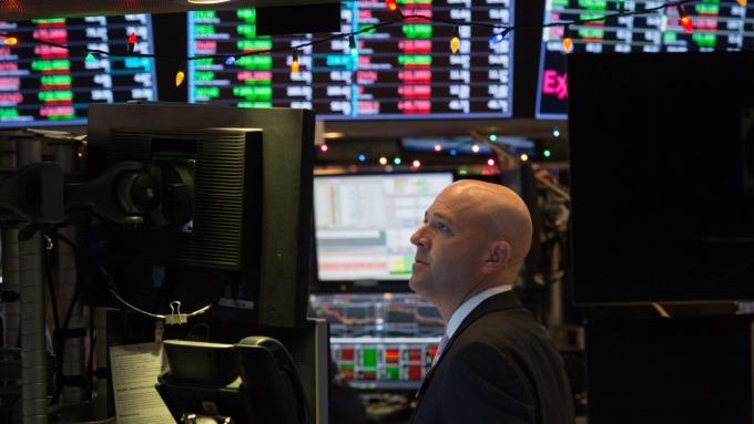 圖:AFP  美國股市週二大幅收高