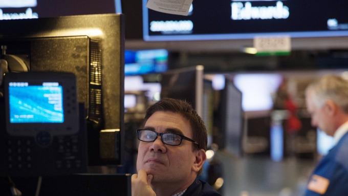 圖:AFP  美國股市週三下跌