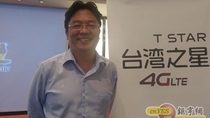 台灣之星總經理賴弦五表示首季營收雙位數高成長。(鉅亨網資料照)