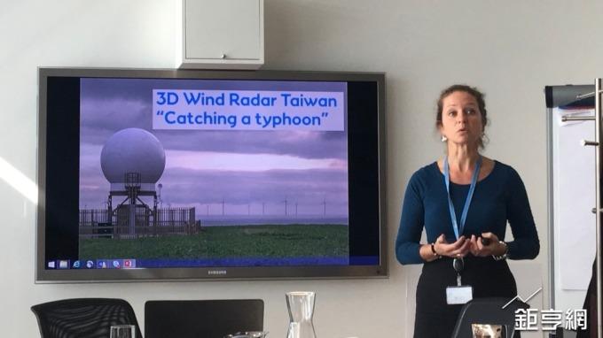 沃旭將引進全球唯一3D雙雷達系統來台研究。(林薏茹攝)