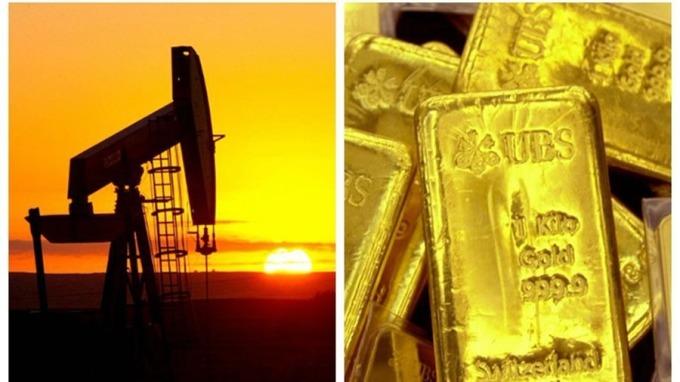 分析認為,隨著避險情緒升溫,原油和黃金價格或將暴漲。 (圖:AFP)