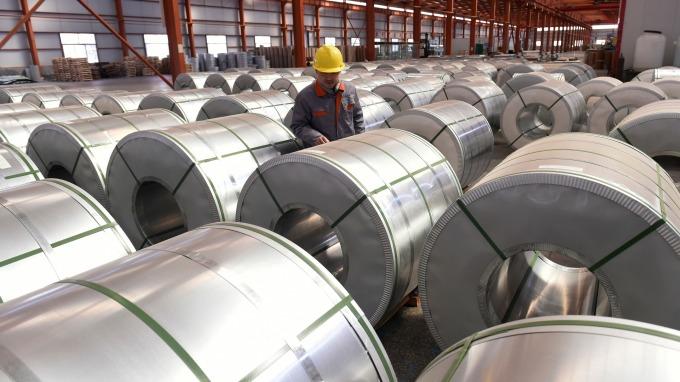 中國第一季鋁出口創高(圖:AFP)